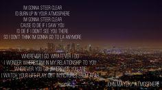 John Mayer-Atmosphere