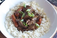 Slow-Cooked Korean Beef Stew | Mmm... is for Mommy #LMDConnector