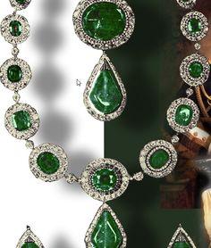Die Smaragde der Kaiserin | Hohenzollern-Preussen http://www.royal-magazin.de/german/preussen/preussen-smaragd-parure.htm Prussia Hohenzollern - Emeralds