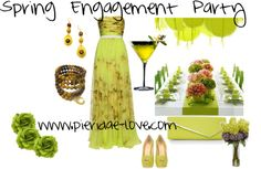 """Spring Engagement Party"" by pieridae-love on Polyvore"