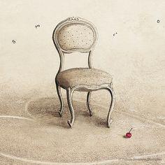 Chaise pour Valeria Docampo. (detail) Illustration.