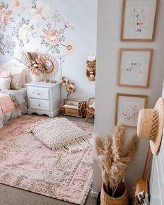Big Girl Bedrooms, Girls Bedroom, Decoration Inspiration, Room Inspiration, Room Ideas Bedroom, Bedroom Decor, Deco Kids, Cute Room Decor, Aesthetic Room Decor
