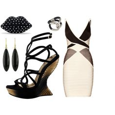 Geometric, created by leiastyle on Polyvore