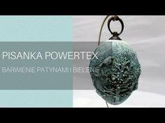 Pisanka powertex - YouTube Ornament Tutorial, Diy Tutorial, Christmas Decoupage, Mixed Media Techniques, Everyday Objects, Mixed Media Art, Altered Art, Decorative Items, Easter Eggs