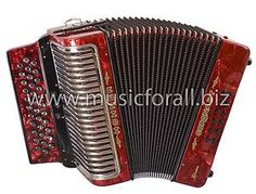 NEW Hohner Corona Xtreme II Tex Mex 3 Switch Accordion with Gig Bag, Straps and DVD - Key GCF, Red - Make Offer - Free Ship to USA - Cheap Worldwide Shipping! http://stores.ebay.com/music-for-all-03   http://www.musicforall.biz/