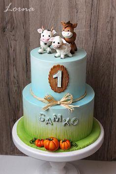 Zvieratká :-), torta pre deti, Cake for kids, Autorka: Lorna, Tortyodmamy.sk.
