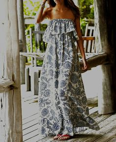 Awesome summer maxi dress -- one of my fave go to's via Victoria's Secret