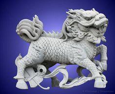 The Chinese Dragon; Qilin and Phoenix