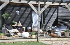 Focení terasy pro časopis Nové proměny bydlení