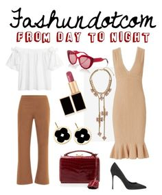 """""""from day to night"""" by stephdiazhansm on Polyvore featuring moda, Sergio Rossi, Mark Cross, Marni, Torn by Ronny Kobo, VIVETTA, Tom Ford y Asha by ADM"""