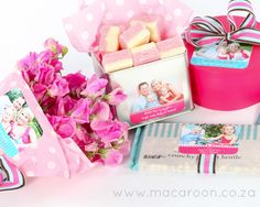 Spruce up any container and packaging with a Macaroon photographic sticker; personalised with your family photos http://www.macaroon.co/macaroon/content/en/macaroon/photo-gift-stickers