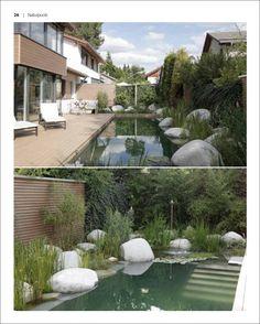 Schwimmteiche & Pools für kleine Gärten
