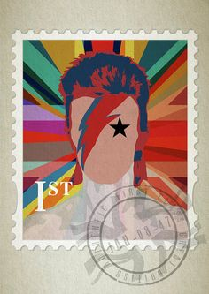 First Class Bowie Union by Big Fat Arts.