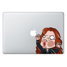 [ Black Widow ] TRAPPED SERIES FOR MACBOOK & LAPTOP