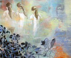EVENTYRSKOGEN BY ANNE-BRITT KRISTIANSEN  #fineart #art #painting #kunst #maleri #bilde  www.annebrittkristiansen.com/anne-britt-kristiansen-kunst-2012