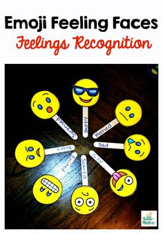 Kids can handle big feelings when they can name what they feel. Teaching kids feelings recognition helps them to process the myriad of emotions they experience on a daily basis. This feelings activity is great for use with preschool students and elementa Emotions Preschool, Teaching Emotions, Feelings And Emotions, Teaching Kids, Feelings Chart, Social Emotional Activities, Feelings Activities, Preschool Activities, English Activities For Kids