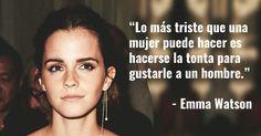8 Frases Inspiradoras de Emma Watson Acerca de la Igualdad de Genero Powerful Quotes, Powerful Women, Emma Watson Frases, Ema Watson, Cool Phrases, Quotes En Espanol, Harry Potter Drawings, Sweet Quotes, Mo S