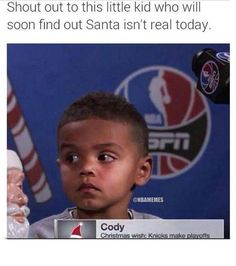 It's 2 days past Christmas, sorry kid. #Knicks - http://nbafunnymeme.com/nba-memes/its-2-days-past-christmas-sorry-kid-knicks