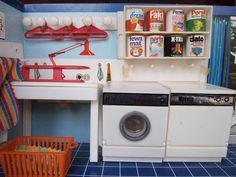 1970er Jahre Hauswirtschaftsraum by diepuppenstubensammlerin, via Flickr