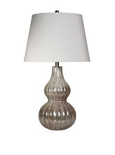 37% OFF StyleCraft Glass Table Lamp, Winter Ice