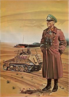 Rommel North Africa - pin by Paolo Marzioli Military Art, Military History, Afrika Corps, North African Campaign, Erwin Rommel, German Soldiers Ww2, Ww2 History, Aviation Art, Panzer