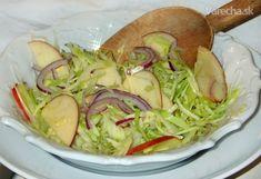 Zelný salát Santa Rosa (fotorecept) Cabbage, Tacos, Menu, Mexican, Vegetables, Ethnic Recipes, Food, Menu Board Design, Cabbages
