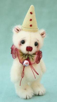 artist bears - miniature bears by jane mogford - pipkins bears by ZombieGirl