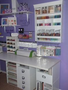 Cards by Jovan: Craft Room Reveal Wall Four