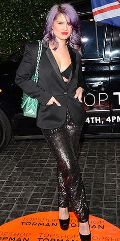 SEQUIN PANTS photo | Kelly Osbourne  If Kelly Osbourne can do it so can I, right?