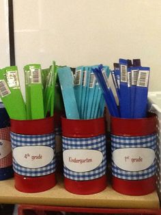 Shelf Markers for books in a series | Library Ideas | Pinterest ...