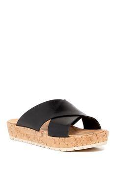 fe021ef06575 KORKS Joly Slide Sandal Blazer Outfits For Women