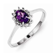 Time for unconventional engagement rings. Pop the question with IceCarats.com's Sterling Silver Rhodium Amethyst & Diamond Ring for only $40.00! Get 10% discount with code INSTALOVE  #icecarats #jewelry #fashion #accessories #jewelryjunky #latestfashion #trending #fashiontrends #affordablefashion #lookbook #fashionbloggers #bloggerstyle #bestseller #instaglam #instastyle #wiw #jewelrylover #ootd #streetstyle #jewelrylover #jewelrytrends #dailyinspo #romantic #fashionkilla #fashionstory…