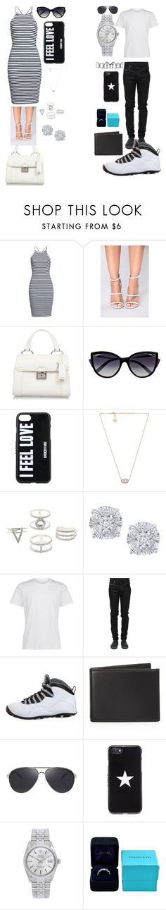 """Need your love"" by malachiaewarrenwifeyjunnewarre on Polyvore featuring Bardot, Diamond in The Sky, Miu Miu, La Perla, Givenchy, Kendra Scott, Charlotte Russe, Effy Jewelry, County Of Milan and NIKE"
