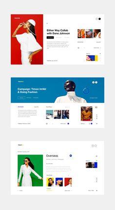 Trust me - Web design - - Flat Web Design, Online Web Design, Design Ios, Minimal Web Design, Creative Web Design, Web Design Company, Graphic Design, Layout Design, Layout Web