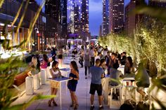 The largest outdoor hotel terrace in New York