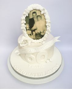 Diamond wedding anniversary by Olivia's Cake Boutique