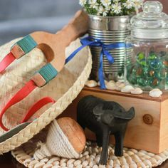 How to Modernize a Pinoy Theme for A Kid's Party - Kate. Fiesta Theme Party, Party Themes, Filipiniana Wedding Theme, Wedding Table, Wedding Favors, Filipino Wedding, Pinoy, Table Centerpieces, First Birthdays