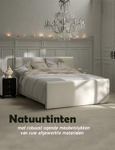 Landelijke Woonstijl - Slaapkamer in Natuurtinten. Klik op de ...