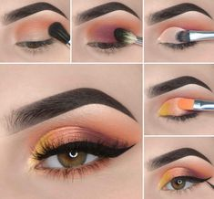 Here we have compiled simple eye makeup tips pictures. They can help you become an eye makeup expert. You can also easily get the perfect eye makeup. Makeup Eye Looks, Eye Makeup Steps, Beautiful Eye Makeup, Beauty Makeup, Creative Eye Makeup, Simple Eye Makeup, Makeup Artist Tips, Eye Makeup Designs, Makeup Tips For Beginners
