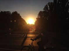 Berlin Summer Streetphotography Cycling