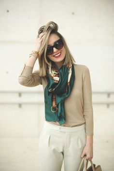 Blonde fashion girl