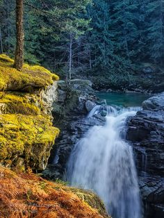 Nooksack Falls, Mt. Baker, Washington