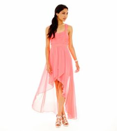 Haley Logan Sleeveless Chiffon High-Low Dress   found at @JCPenney