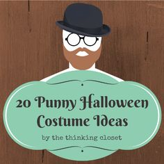 20 Punny Halloween Costume Ideas | Here's a round-up of 20 other family-friendly Halloween costumes inspired by literal interpretations of the words.  Many of them would work for adults or kids and can be created with items you have lying around the house (great for last-minute).  I hope they bring you a chuckle or some inspiration as you plan your next costume.