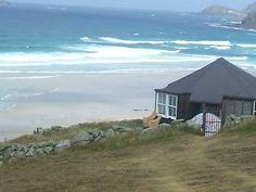 Gwenver Beach near Sennen Cove Cornwall...