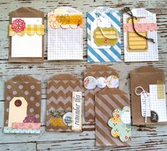 Mish Mash: Handmade Project Life Journaling Cards...  must make some of these!