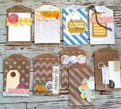 Mish Mash: Handmade Project Life Journaling Cards... Hmmmmm, Pocket Letter ideas.