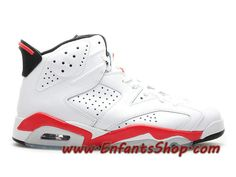 timeless design 28fd5 5a6a3 Air Jordan 6 Retro Chaussures Nike Basket Pas Cher Pour Homme Infrared Pack  384664-103