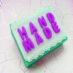 Handmade Square Shape Silicone Soap Mold Cake Mould Handmade Soap Mold Candle Mold #wholeport