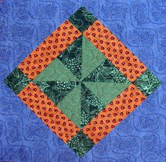 Starwood Quilter: Forest Paths Quilt Block